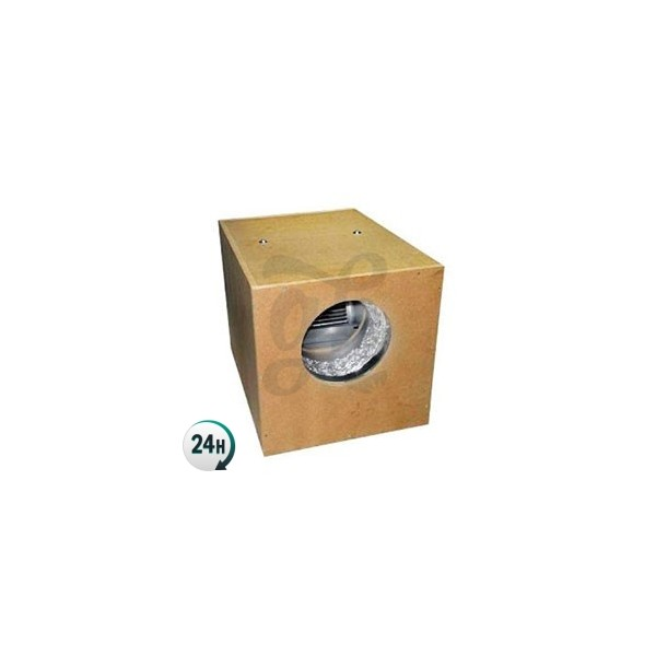 Soundproofed Wooden Box Extractor Fan Plus