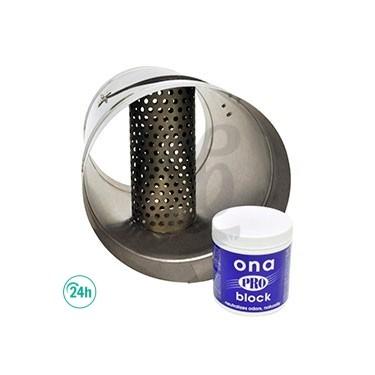 Tubo con rejilla para ONA Block - Adaptador para tubo ONA Block