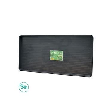 Plateau de 110 x 55 x 4 cm noir