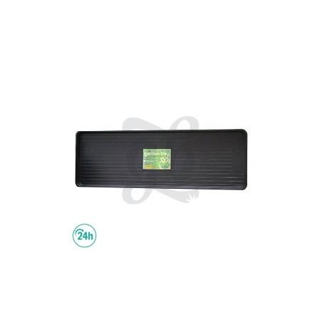 Black 117x40x4cm Tray