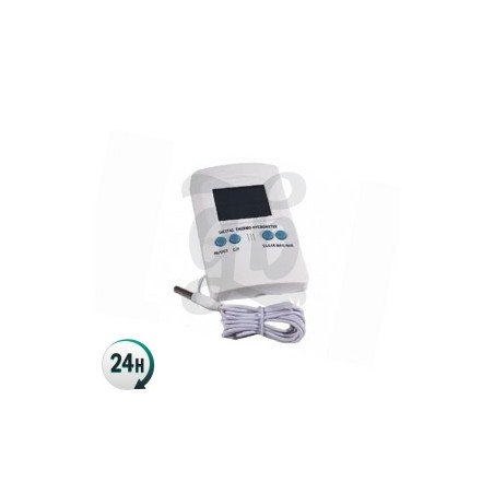 Termo-Higrómetro max-min digital con sonda