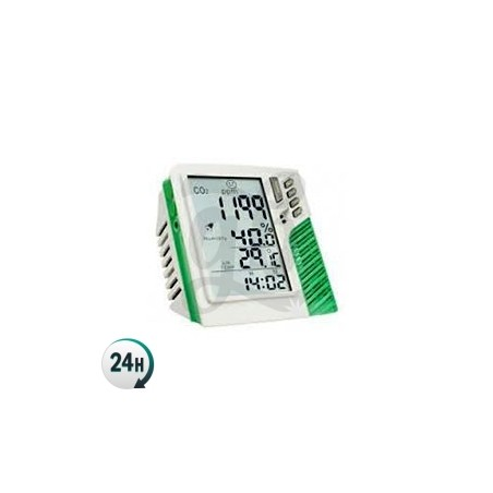 Medidor de Co2 temperatura y humedad