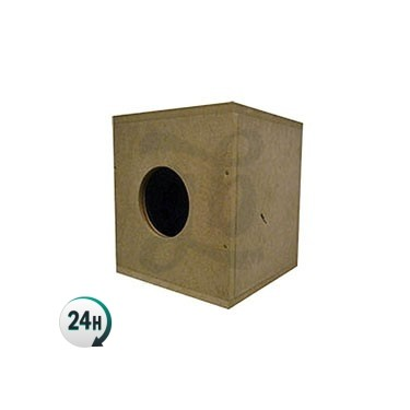 Soundproof box for growing cannabis