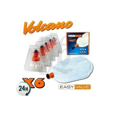 Set 6 Bolsas Easy Valve Volcano