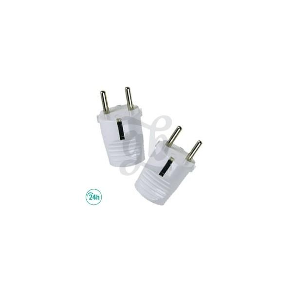 White spanish plugs
