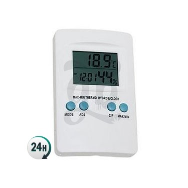 Grow tent thermo hygrometer