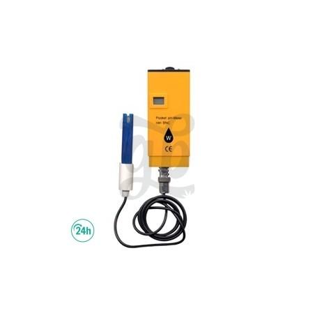 Medidor de PH con sonda Wassertech