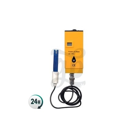 Instrument de mesure du pH avec capteur Wassertech