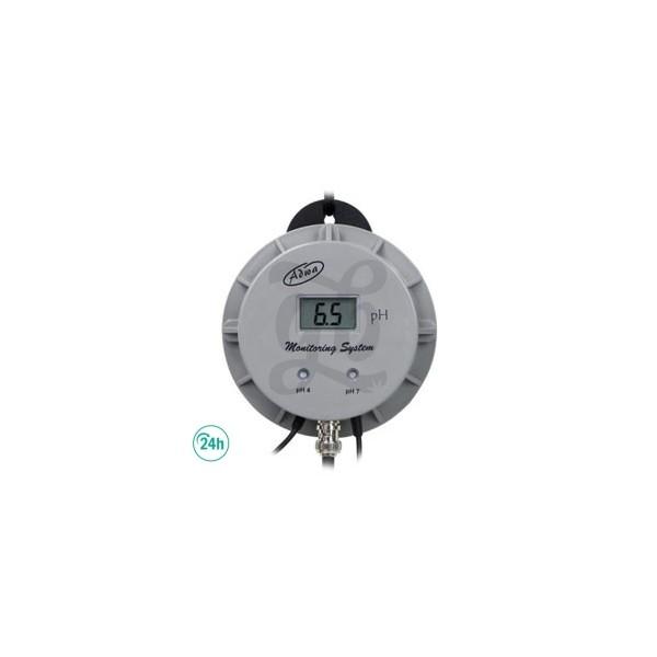 Medidor pH de pared continuo con sonda Adwa