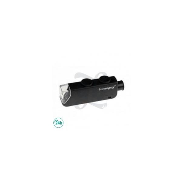 Microscopio Lupa Lumagny 60x Mini Con luz