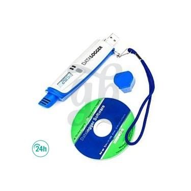 Datalogger USB Termohigrómetro con registro