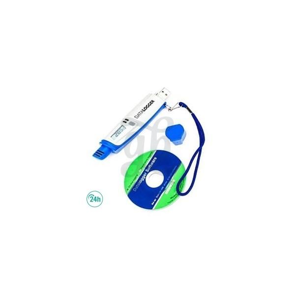 Datalogger USB Thermo-Hygromètre Enregistreur