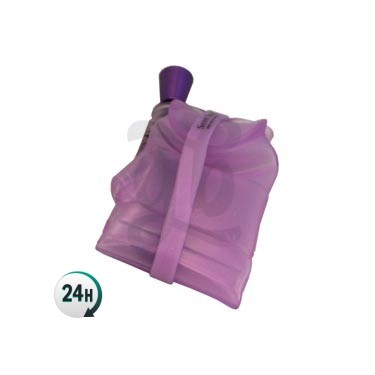 Secret Smoke Portable Silicone Bong - Purple