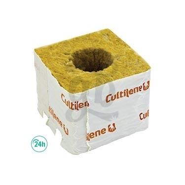 Taco lana de roca 75 x 75 x 58 mm