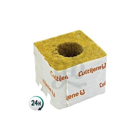 Cube en laine de roche 75 x 75 x 58 mm