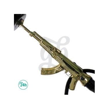 Deluxe AK47 Hookah - gold