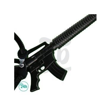 Black Deluxe M16 Hookah