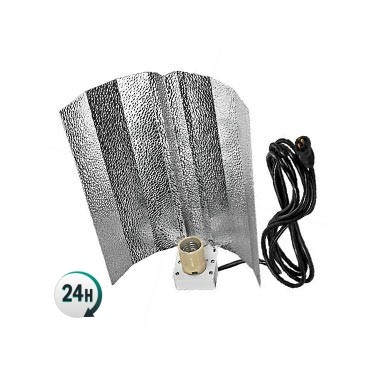 Reflector stucko con 1,5 m cable Plug & Play