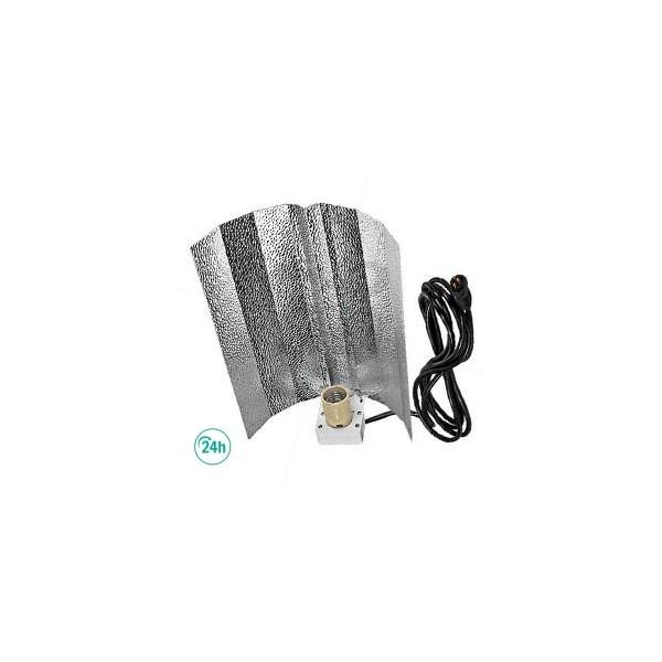 Reflector stucko con 1,5m cable Plug & Play