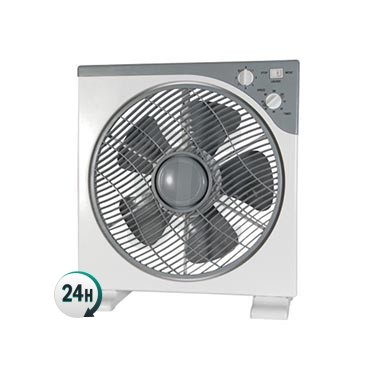 Rotating grid fan