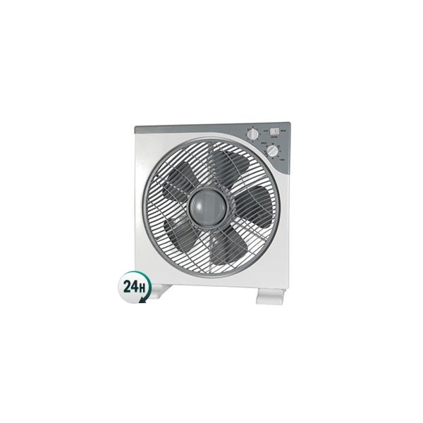 Ventilador frontal rotatorio