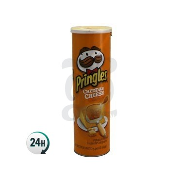 Pringles Can Stash - Orange