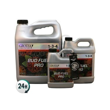 Bud Fuel Grotek bottles