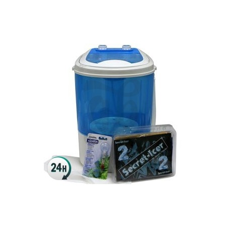 washing machine kit + Pyramid zipper + Secret-Icer - ice water extraction