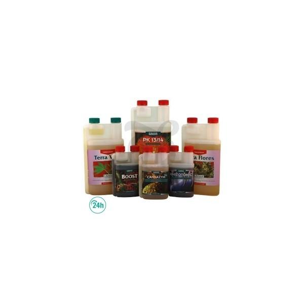 Kit fertilizantes Canna