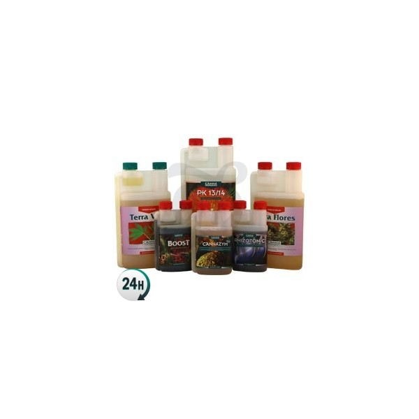 Kit de fertilizantes Canna