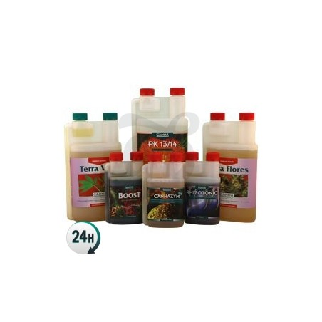 Kit fertilizantes Canna
