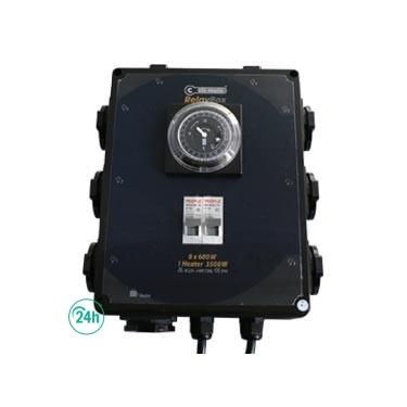 Temporizador 8 x 600 w
