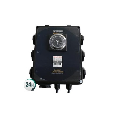 Temporizador 8x600W