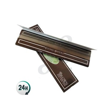 Papel de fumar Flying Papers Brown King Size