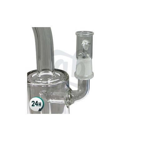 Oiler Pipa de Agua Borosilicato para BHO