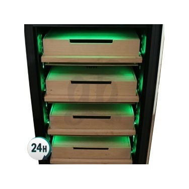 XL Humidor Electronic Fum Box - drawers