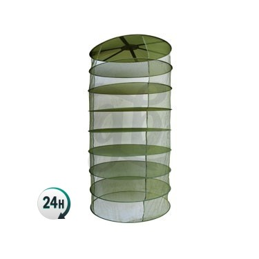 Light green round drying rack