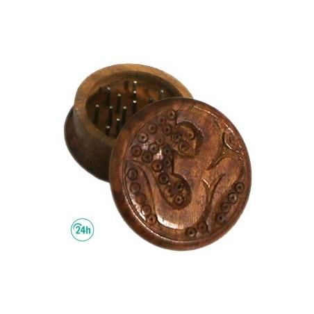 Wooden Carved Grinder