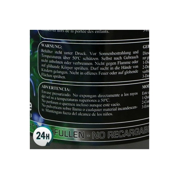 Co2 Refill Bottles - Warning