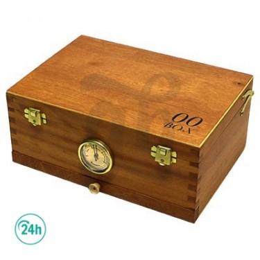 00 Box Pequeña Caja de madera con malla para polen
