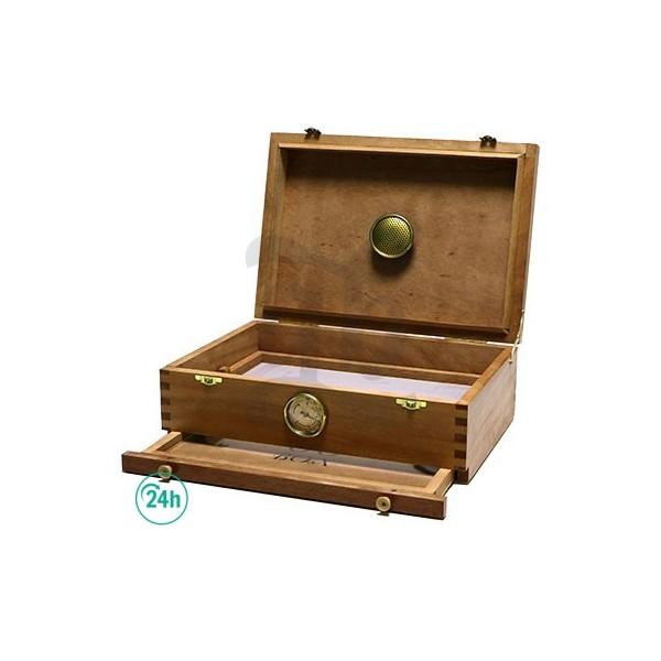 00 Box Moyen Format en Bois de Cèdre
