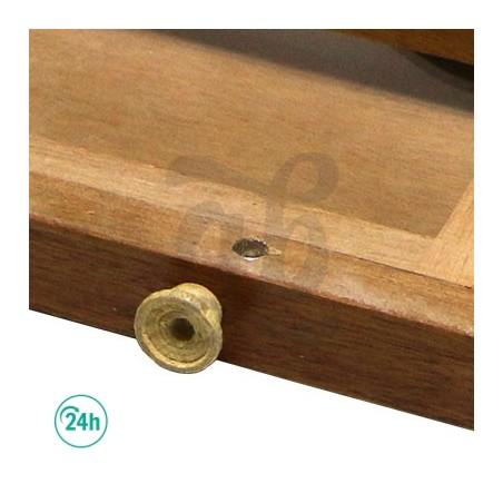 00 Box Mediana Caja para curar marihuana con Malla Polen