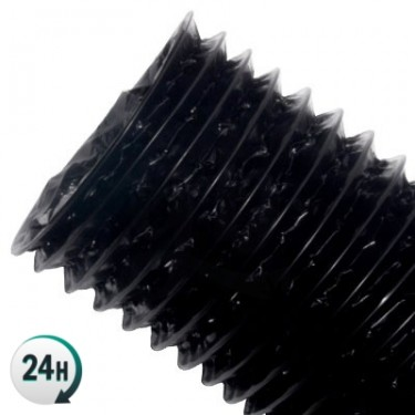 Black and Aluminum Combiconnect Duct (10 meters)