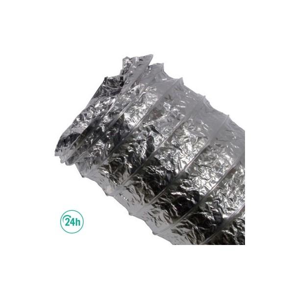 Tubo aluminio 5 m para cultivos de interior