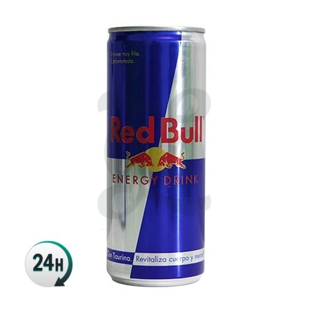 Canette Red Bull de Camouflage