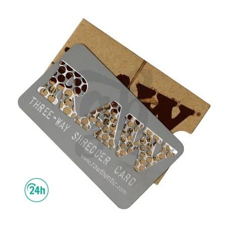 RAW Three-Way Shredder Card