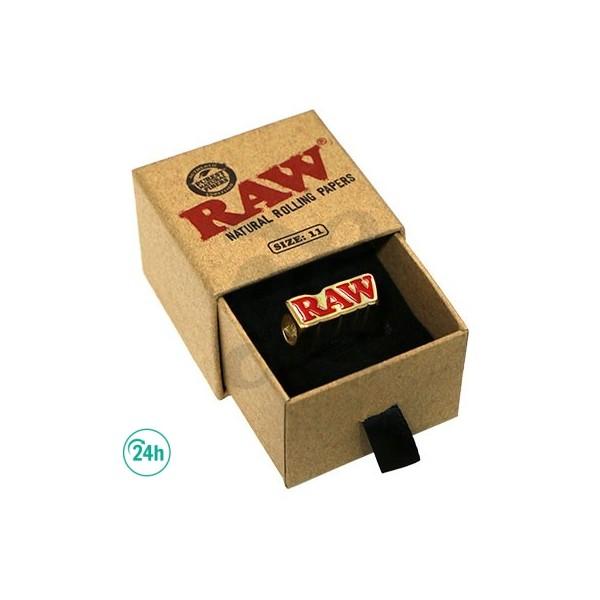 RAW Anillo 24K