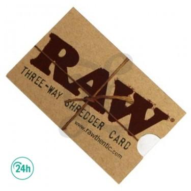 RAW Grinder Card - diseño raw