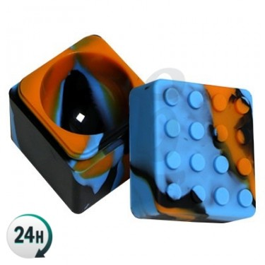 Cubo de silicona Lego