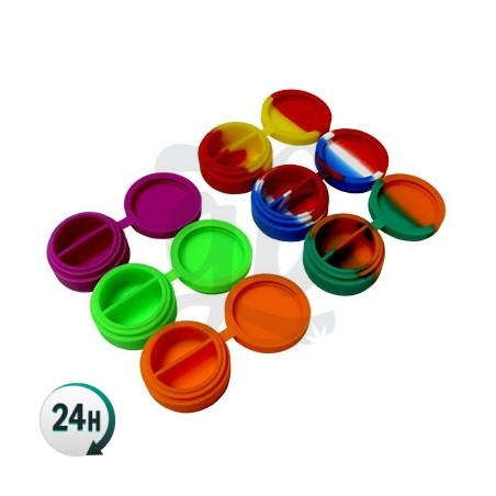 Professional Round Silicone Containers